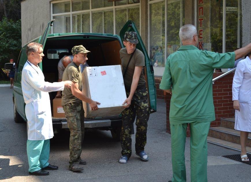 Коллектив «Седьмого километра» передал одесскому госпиталю оборудование для обследования раненых военнослужащих, фото-1