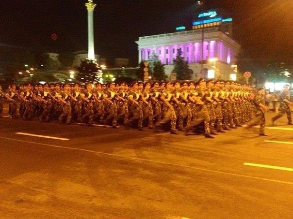 В Киеве прошла репетиция военного парада (ФОТОРЕПОРТАЖ), фото-8