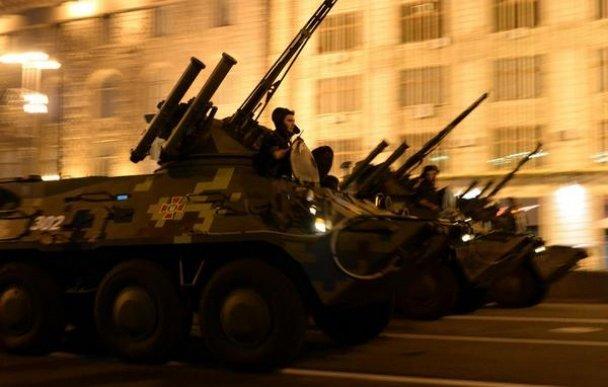 В Киеве прошла репетиция военного парада (ФОТОРЕПОРТАЖ), фото-7