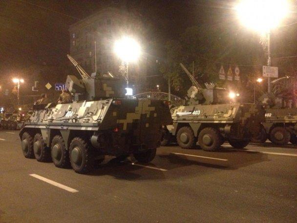 В Киеве прошла репетиция военного парада (ФОТОРЕПОРТАЖ), фото-5