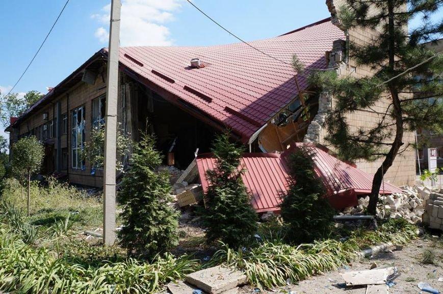 Донецкий краеведческий музей и ДМ «Юность» - после артобстрела (ФОТОФАКТ), фото-3