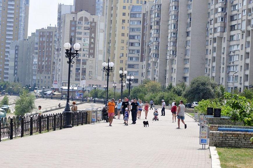 Оболонскую набережную привели в порядок и сделали пешеходной (ФОТО), фото-5