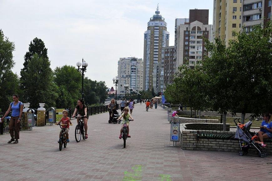 Оболонскую набережную привели в порядок и сделали пешеходной (ФОТО), фото-12
