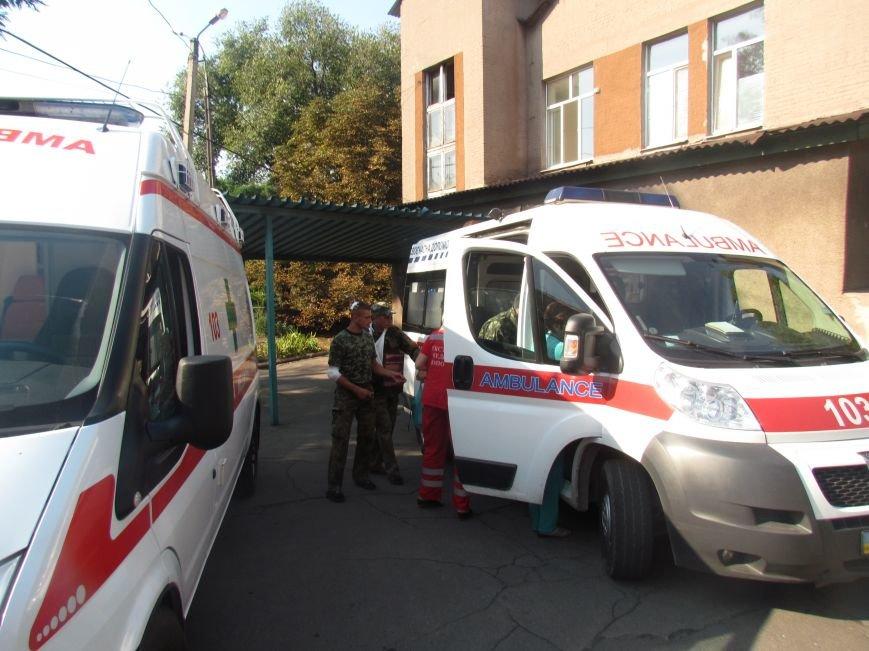 Из Мариуполя раненных в Иловайске бойцов отправили в Днепропетровск (ФОТО), фото-6
