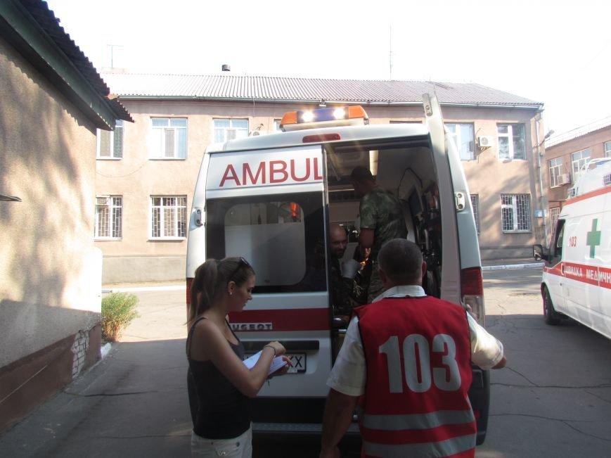 Из Мариуполя раненных в Иловайске бойцов отправили в Днепропетровск (ФОТО), фото-9
