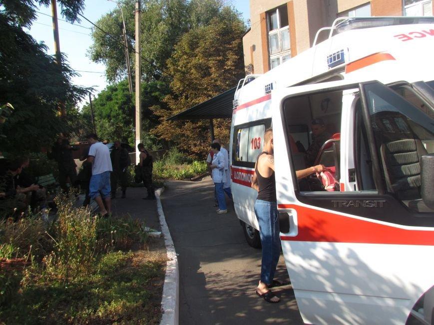 Из Мариуполя раненных в Иловайске бойцов отправили в Днепропетровск (ФОТО), фото-7