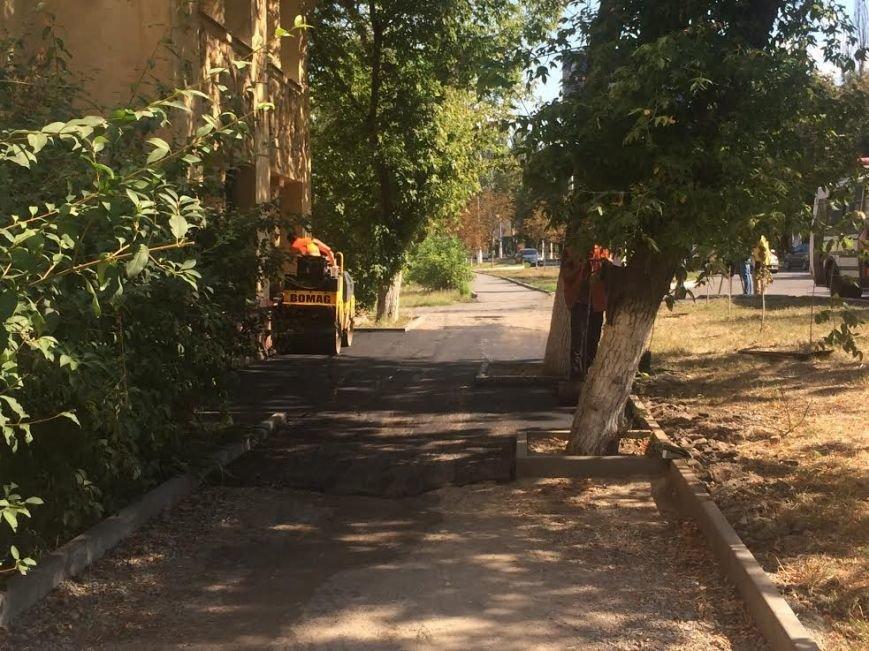В Мариуполе в очередной раз взялись за тротуар по проспекту Нахимова (ФОТО), фото-4
