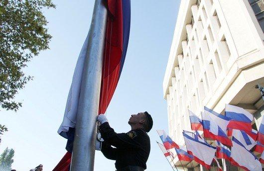 В Крыму торжественно подняли флаг России (ФОТО), фото-3
