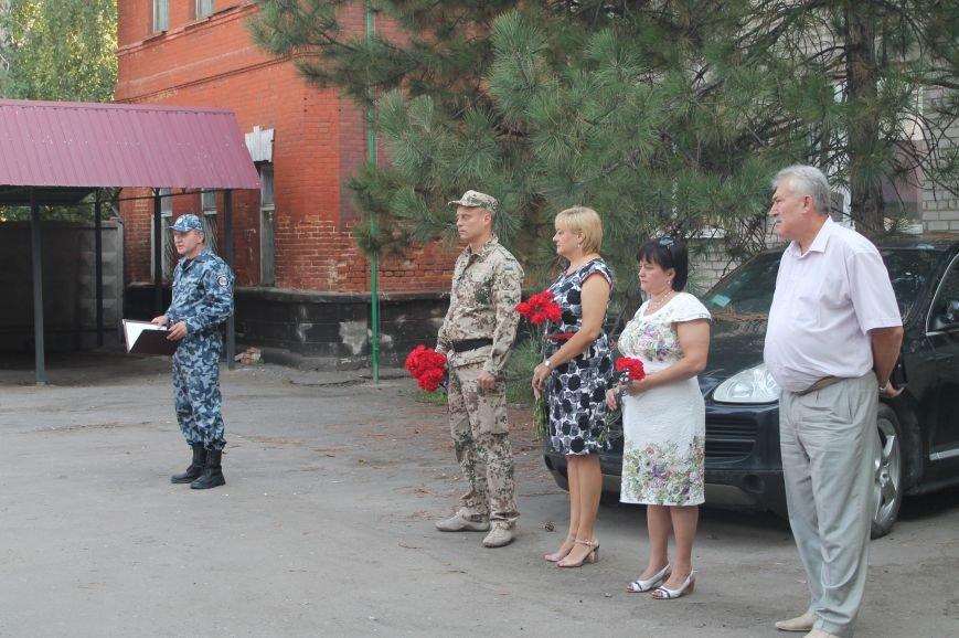 Артемовские милиционеры почтили память коллег, отдавших жизни при исполнении служебного долга, фото-5