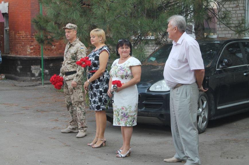 Артемовские милиционеры почтили память коллег, отдавших жизни при исполнении служебного долга, фото-4