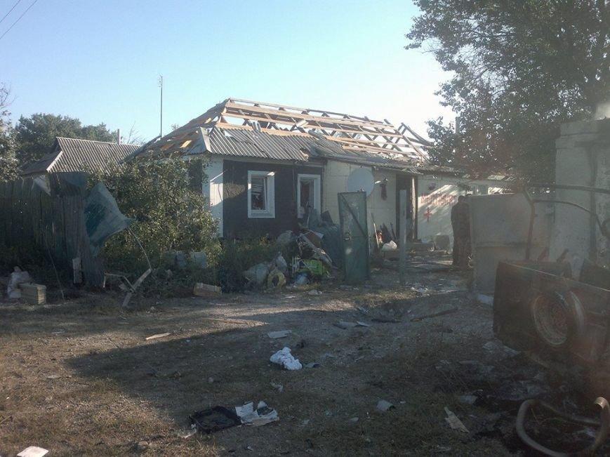 Поселок Новосветловка после обстрела (ФОТО), фото-4