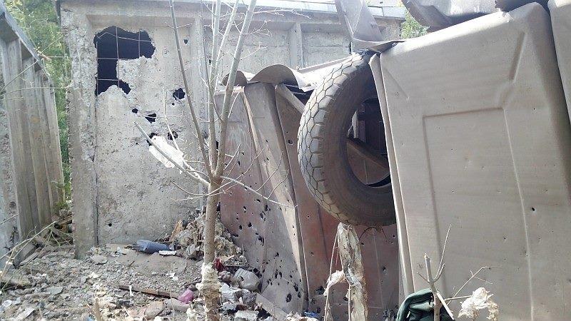 Во что превратился район «Касс аэрофлота» в Донецке после артобстрела (ФОТОРЕПОРТАЖ, добавлено ВИДЕО), фото-6