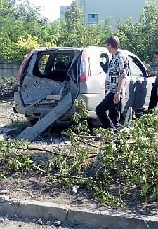 Во что превратился район «Касс аэрофлота» в Донецке после артобстрела (ФОТОРЕПОРТАЖ, добавлено ВИДЕО), фото-4