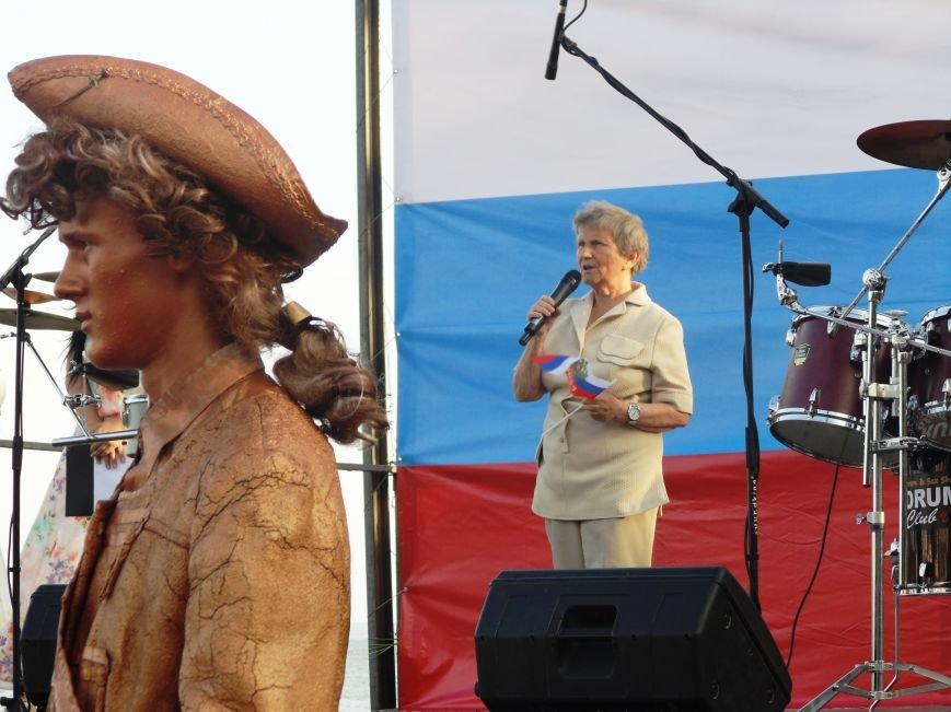 Фотофакт. В Ялте отметили День Флага РФ, фото-10