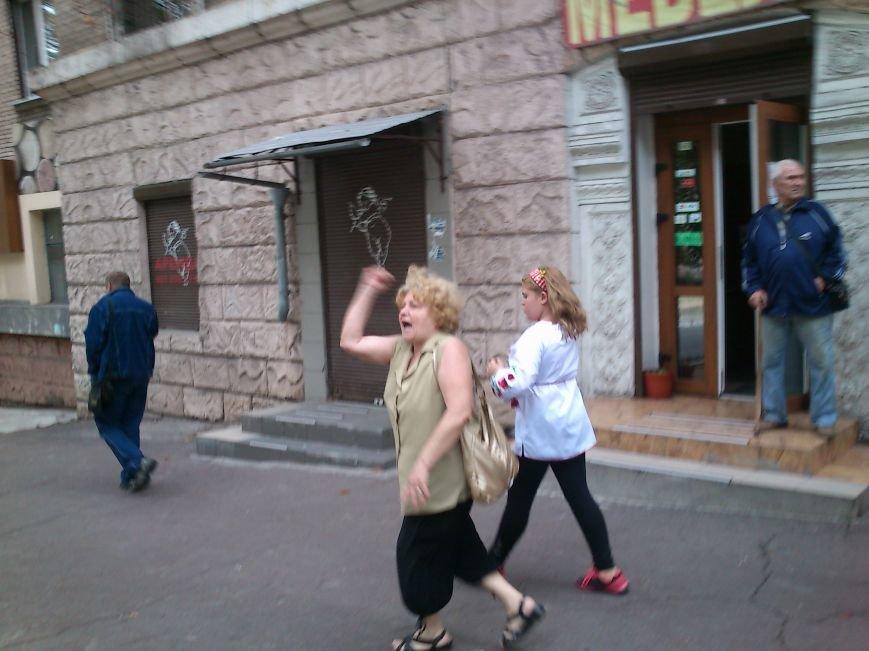 В Днепродзержинске в День Государственного флага состоялся марш вышиванок, фото-12