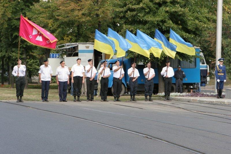 В Харькове прошла церемония чествования Государственного Флага Украины, фото-2