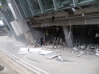 В результате обстрела  «Донбасс Арене»  нанесены серьезные повреждения (ФОТО), фото-4