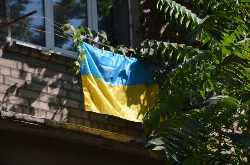 В Мариуполе тысячи флагов раздали за 5 минут? (ФОТО), фото-8