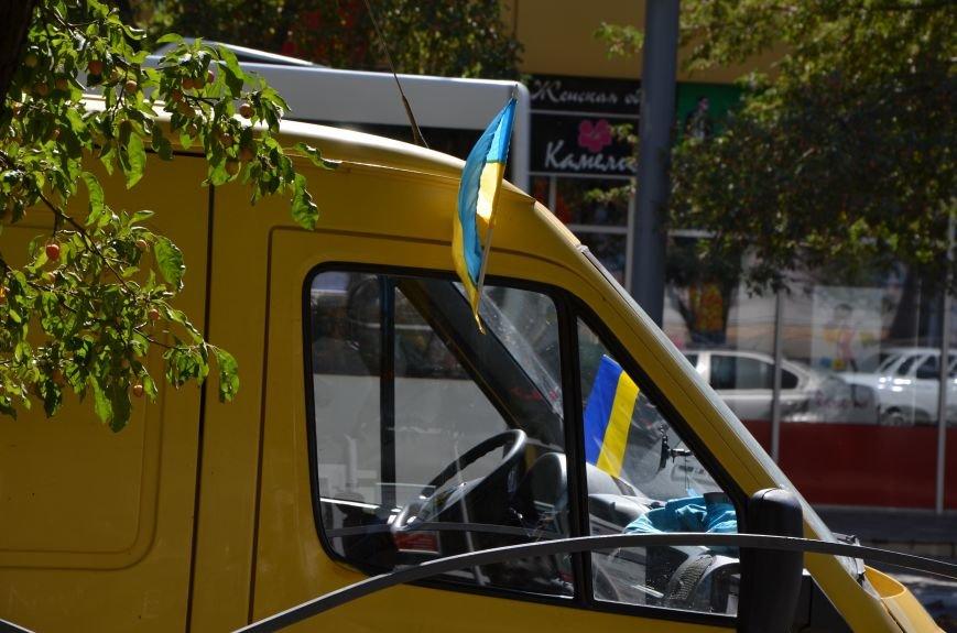 В Мариуполе тысячи флагов раздали за 5 минут? (ФОТО), фото-6