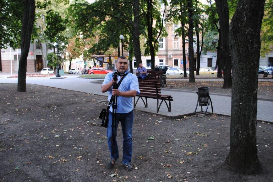 На «Зеркальной струе» произошла потасовка между евромайдановцами и милиционерами из-за российского журналиста, фото-4