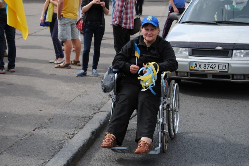 В Харькове евромайдановцы организовали батальон «Антигепин», подрались с милицией и развесили флаги над Сумской, фото-4