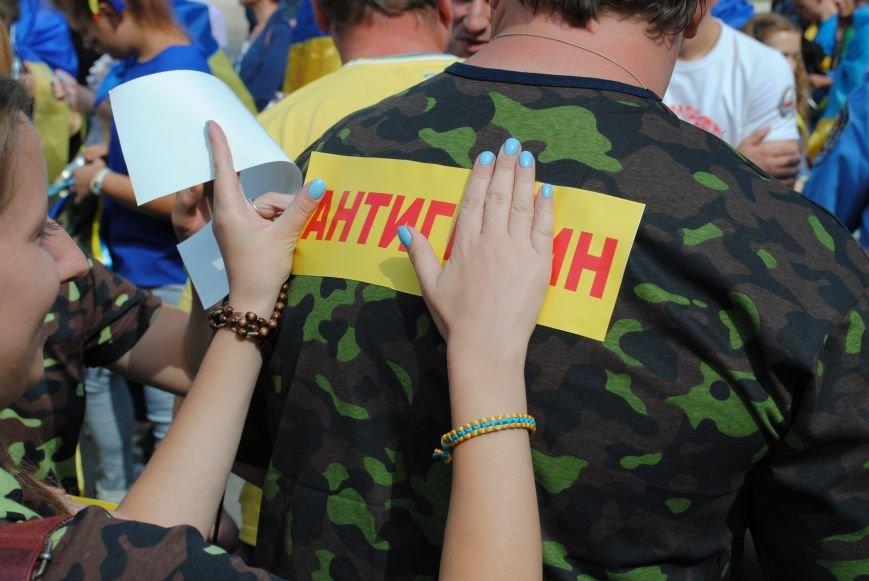 В Харькове евромайдановцы организовали батальон «Антигепин», подрались с милицией и развесили флаги над Сумской, фото-1