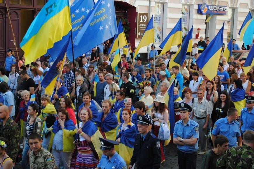 В Харькове евромайдановцы организовали батальон «Антигепин», подрались с милицией и развесили флаги над Сумской, фото-20