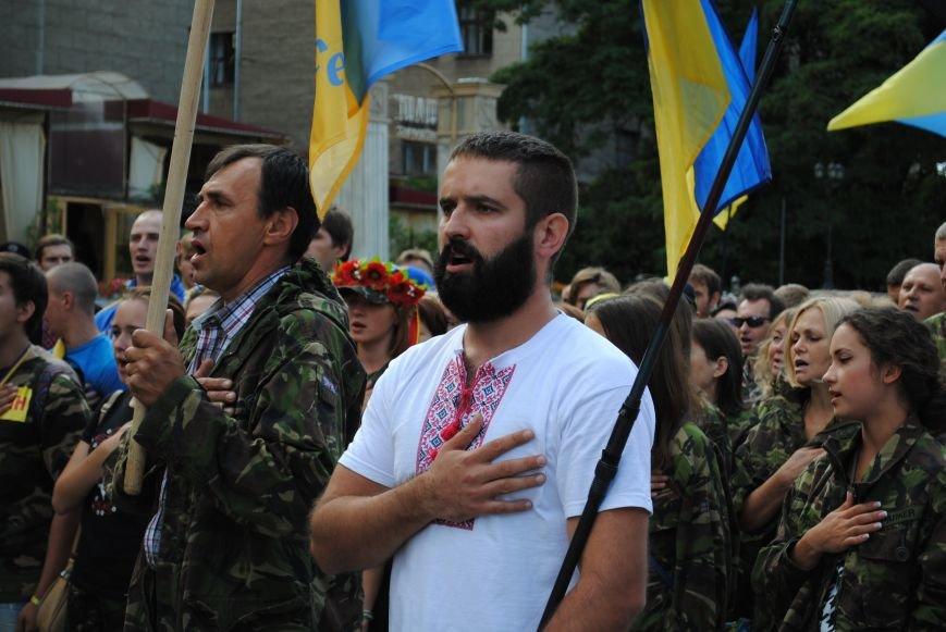 В Харькове евромайдановцы организовали батальон «Антигепин», подрались с милицией и развесили флаги над Сумской, фото-5