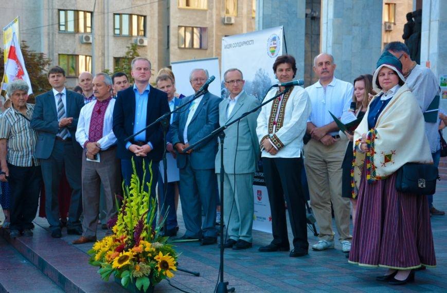 Прибалты выразили свою солидарность с украинцами (ФОТО), фото-2