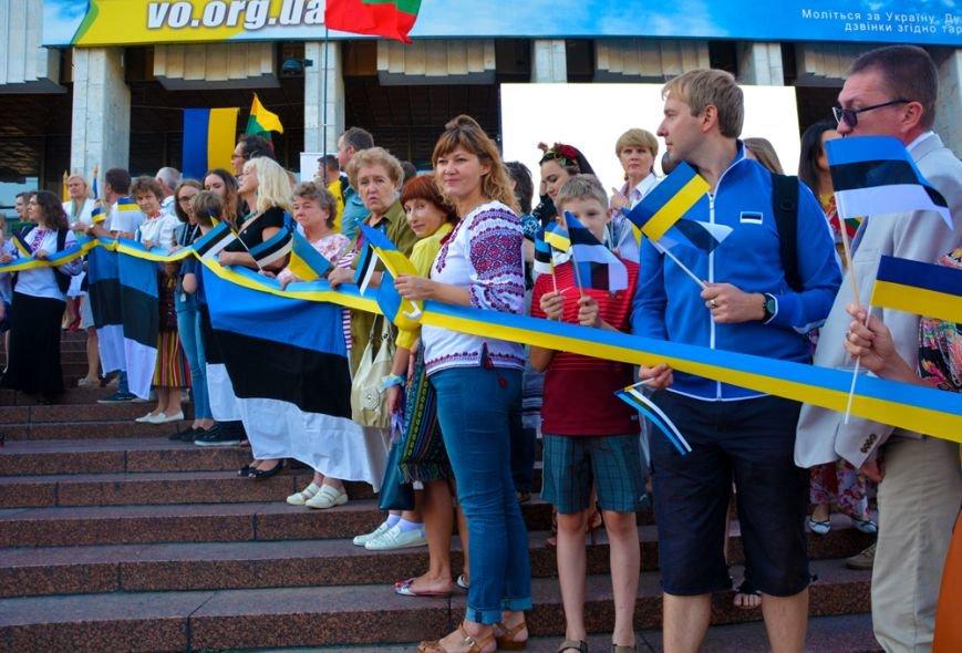 Прибалты выразили свою солидарность с украинцами (ФОТО), фото-1