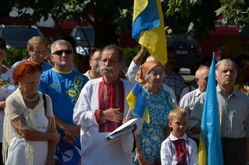 Мариупольцы на митинге в честь Дня Независимости написали письмо Петру Порошенко (ФОТОРЕПОРТАЖ), фото-28