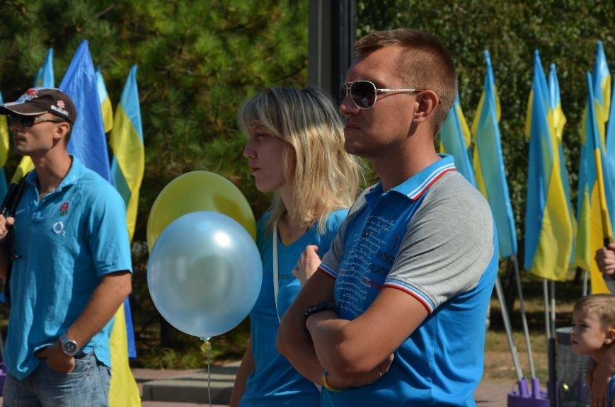 Мариупольцы на митинге в честь Дня Независимости написали письмо Петру Порошенко (ФОТОРЕПОРТАЖ), фото-19
