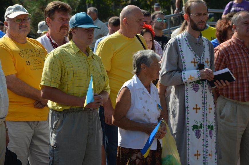 Мариупольцы на митинге в честь Дня Независимости написали письмо Петру Порошенко (ФОТОРЕПОРТАЖ), фото-23