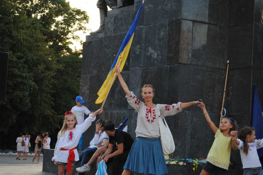 В Харькове вместо парада вышиванок состоялась очередная акция евромайдановцев, фото-14