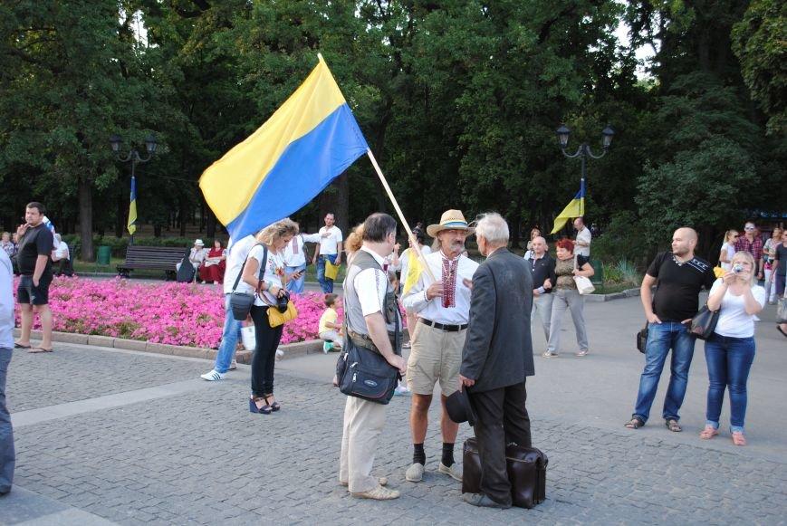 В Харькове вместо парада вышиванок состоялась очередная акция евромайдановцев, фото-4