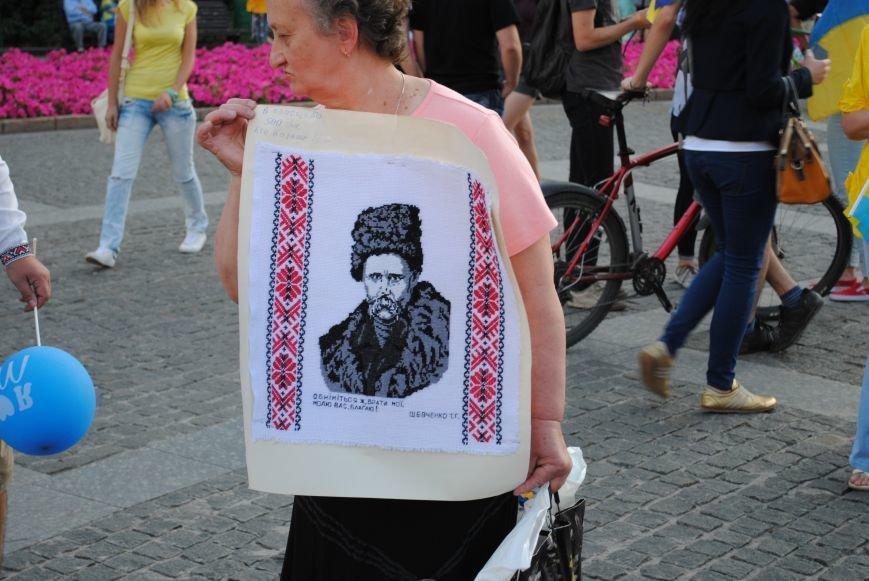 В Харькове вместо парада вышиванок состоялась очередная акция евромайдановцев, фото-12