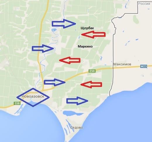 Колонна бронетехники РФ остановлена украинскими силовиками, фото-1