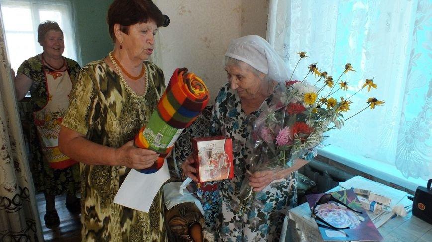 У ветерана войны Елены Леонтьевны Шарешик сегодня юбилей, фото-1