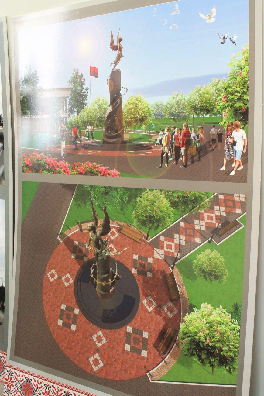 В Сумах завершился конкурс идей на памятник Небесной Сотне (ФОТО), фото-2