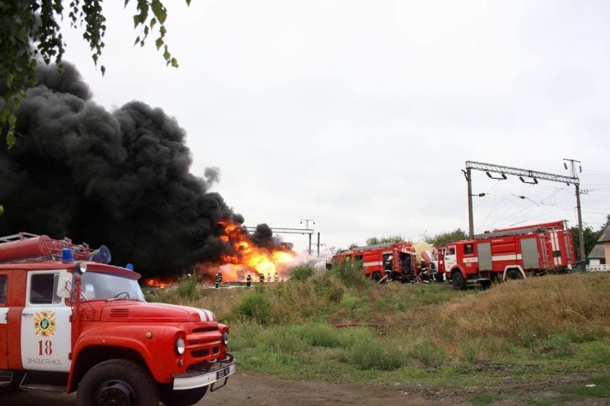 """Рятувальники Кіровоградського гарнізону залучалися до гасіння пожежі на станції """"Городище"""", фото-2"""