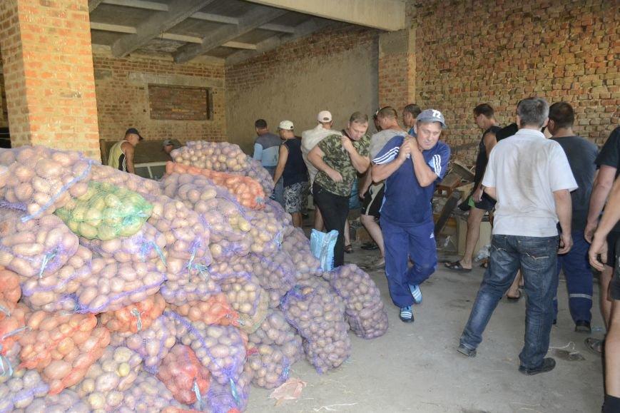 20 тонн гуманітарної допомоги від рятувальників ДСНС України отримали мешканці Сходу в районі проведення АТО, фото-2
