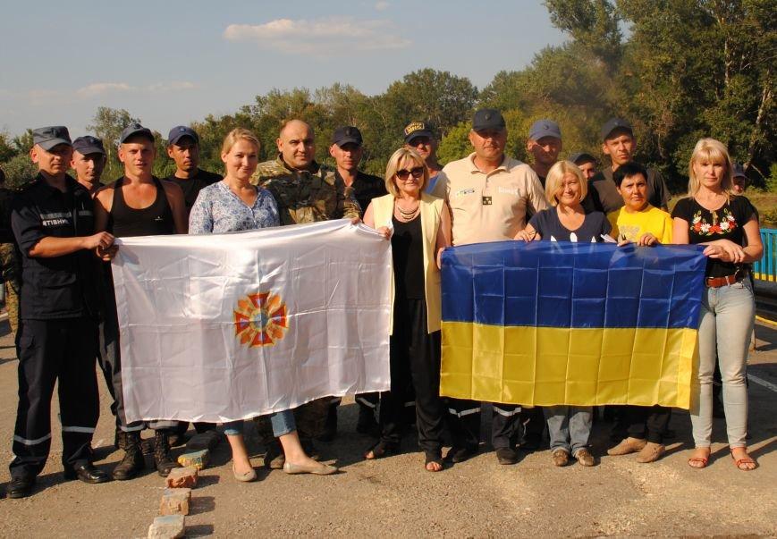 20 тонн гуманітарної допомоги від рятувальників ДСНС України отримали мешканці Сходу в районі проведення АТО, фото-12