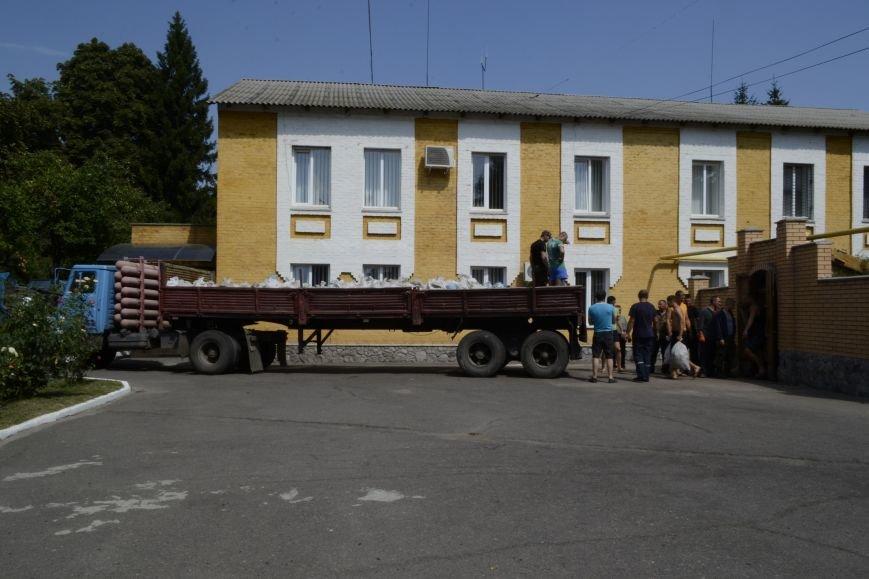 20 тонн гуманітарної допомоги від рятувальників ДСНС України отримали мешканці Сходу в районі проведення АТО, фото-5