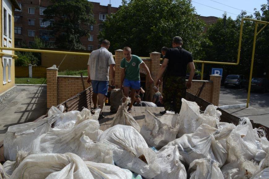 20 тонн гуманітарної допомоги від рятувальників ДСНС України отримали мешканці Сходу в районі проведення АТО, фото-4