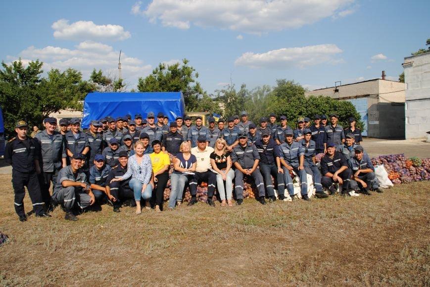 20 тонн гуманітарної допомоги від рятувальників ДСНС України отримали мешканці Сходу в районі проведення АТО, фото-11