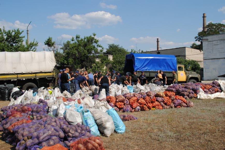 20 тонн гуманітарної допомоги від рятувальників ДСНС України отримали мешканці Сходу в районі проведення АТО, фото-7