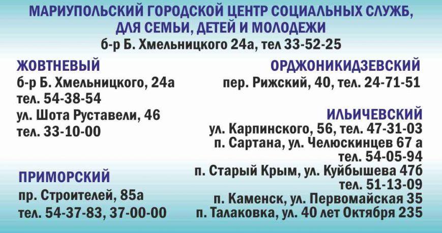 Центры социальных служб контакты