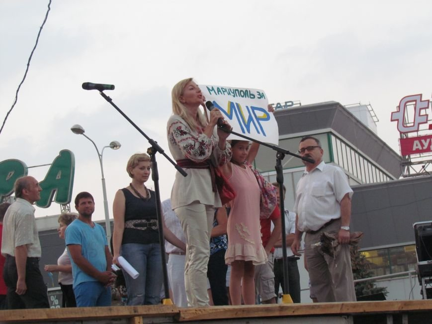 В Мариуполе на митинге за мир пели гимн Украины, молились и записывались в «живой щит» (ДОПОЛНЕНО+ФОТО+ВИДЕО), фото-30