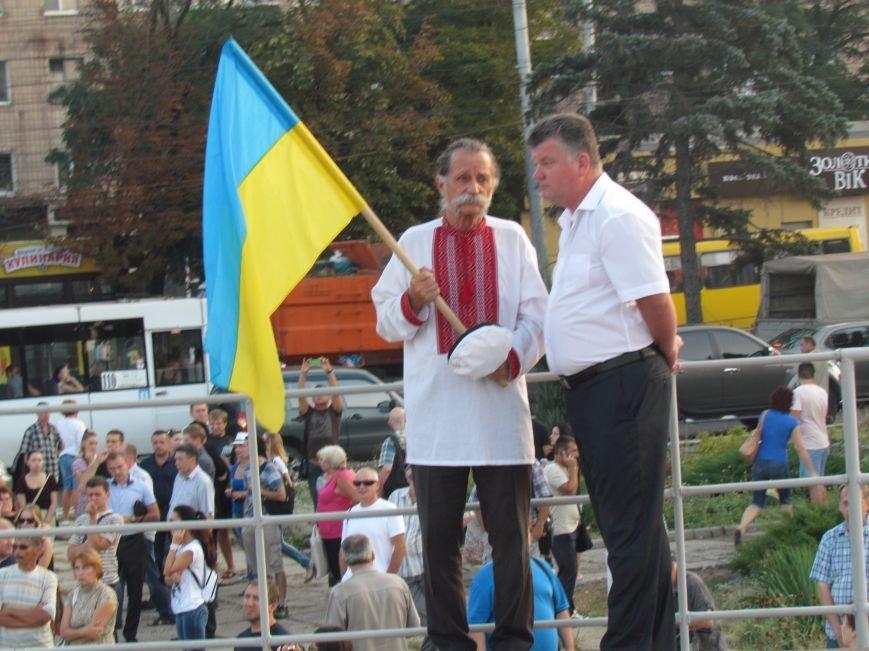 В Мариуполе на митинге за мир пели гимн Украины, молились и записывались в «живой щит» (ДОПОЛНЕНО+ФОТО+ВИДЕО), фото-9