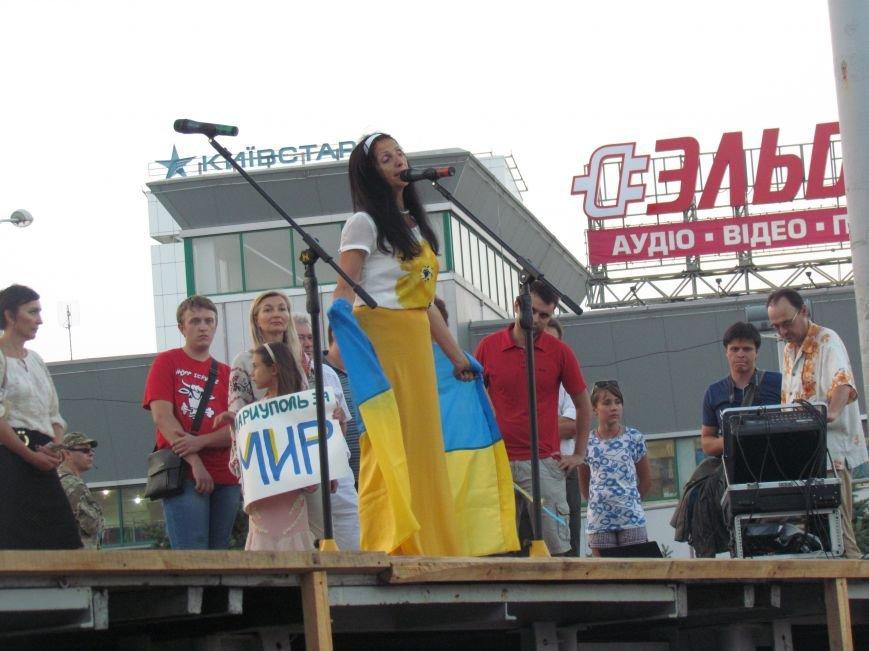 В Мариуполе на митинге за мир пели гимн Украины, молились и записывались в «живой щит» (ДОПОЛНЕНО+ФОТО+ВИДЕО), фото-28